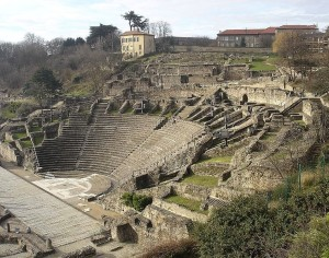 """Amphitheater von Lyon"" by Vincent.bloch"